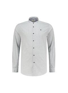 Dstrezzed Overhemd Chambray Wit/Navy Blauw (303150 - 101)