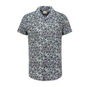 Dstrezzed Overhemd Korte Mouw Cactus Blauw (311116 - 665)