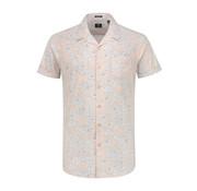Dstrezzed Overhemd Korte Mouw Structure Licht Roze (311134 - 429)