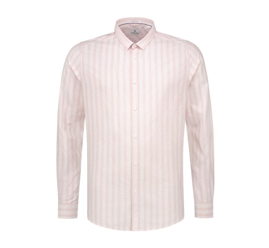 Overhemd Fancy Stripe Licht Roze (303202 - 429)