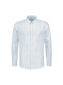 Dstrezzed Overhemd Fancy Stripe Licht Blauw (303202 - 646)