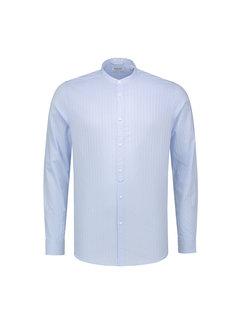 Dstrezzed Overhemd Jaquard Stripe Licht Blauw (303204 - 646)