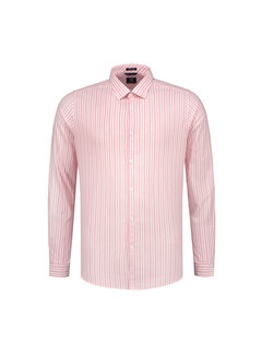 Dstrezzed Overhemd Fineline Stripe Coral (303212 - 428)