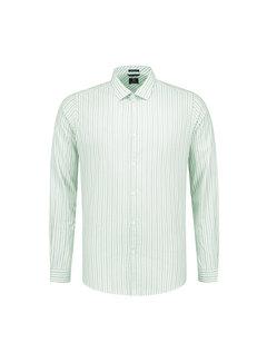 Dstrezzed Overhemd Fineline Stripe Lagoon Groen (303212 - 521)