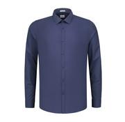 Dstrezzed Overhemd Chambray Navy Blauw (303242 - 649)