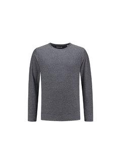 Dstrezzed Sweater Gestreept Navy/Wit (211114 - 620)