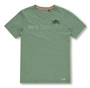 New Zealand Auckland T-shirt Waiaua Army Groen (20CN730 - 494)