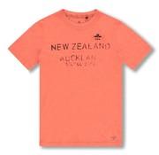 New Zealand Auckland T-shirt Waiaua Oranje (20CN730 - 641)