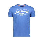 New Zealand Auckland T-Shirt Spring Sky Tekst  (19CN703 - 292)