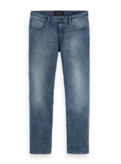 Scotch & Soda Jeans Tye Hot Off The Press Slim Tapered Blauw/Grijs (153517 - 3440)
