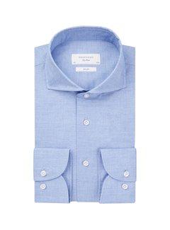 Profuomo Overhemd Blue Poplin Slim Fit Blauw (PPRH1C1034)