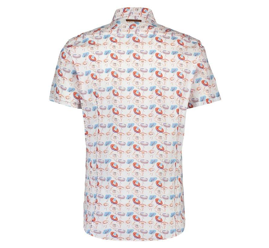 Korte Mouw Overhemd Multicolor (20.03.070)