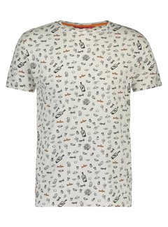 A Fish Named Fred T-Shirt Wit (20.03.410)