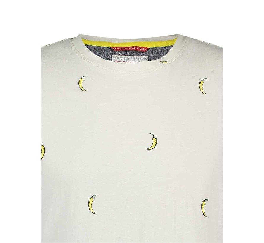 T-Shirt Pepper Wit (20.03.412)