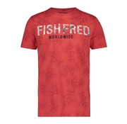 A Fish named Fred T-Shirt Rood (20.03.423)