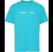 Tommy Hilfiger T-shirt Logo Exotic Teal (DM0DM07621 - CTX)