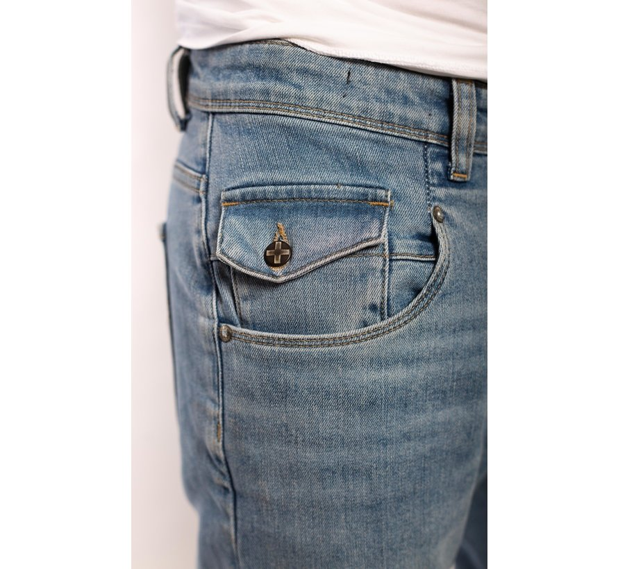 Jeans Johan Tapered Fit Blauw (AM2001 - 123560)