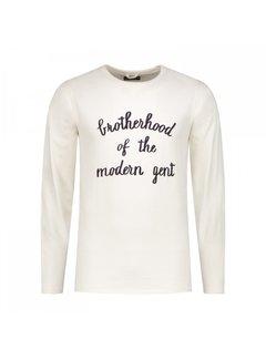 Dstrezzed Sweater Ronde Hals Wit (251012D - 102)