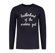 Dstrezzed Sweater Ronde Hals Navy (251012D - 649)