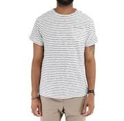 Dstrezzed Dstrezzed T-shirt Streep Wit (451001D - 104)