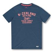 New Zealand Auckland T-shirt Tauranga Blauw (20DN705 - 255)