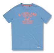 New Zealand Auckland T-shirt Tauranga Wave Blue (20DN705 - 256)
