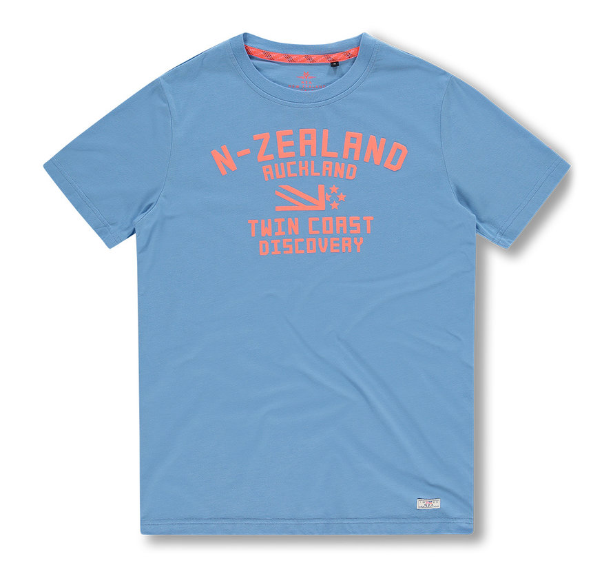 T-shirt Tauranga Wave Blue (20DN705 - 256)