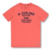 New Zealand Auckland T-shirt Tauranga Bright Orange (20DN705 - 632)