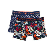 A Fish named Fred Boxershorts 2-pack Tropical Salsa Navy (20.01.270)