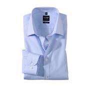 Olymp Overhemd Level 5 Body Fit Streep Blauw (4084 64 11N)