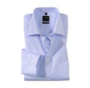Olymp Overhemd Luxor Modern Fit Streep Blauw (0314 64 11)