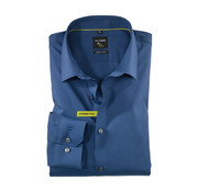 Olymp Overhemd No. Six Super Slim Fit Navy (2504 24 13)
