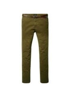 Scotch & Soda Chino Stuart Military Green (124896 - 65)