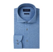 Profuomo Overhemd Single Jersey Knitted Blauw (PP0H0A057)N