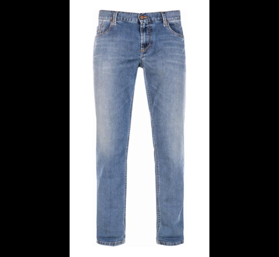 Jeans Slipe Regular Slim Fit Blauw (6837 1970 - 860)N