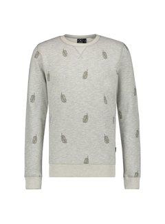 Kultivate Sweater Ronde Hals Grijs (1801041003 - 153)