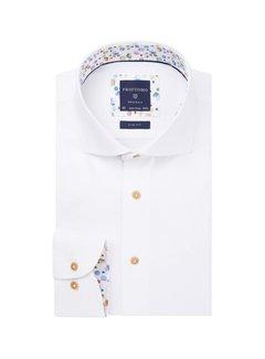 Profuomo Overhemd Slim Fit Wit (PPRH1A1089)