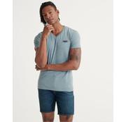 Superdry T-shirt V-hals Sky Blauw (M1010032A - Z7Z)