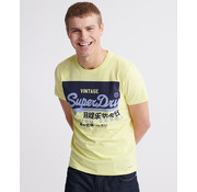 Superdry T-shirt Geel (M1010099A - 5SY)