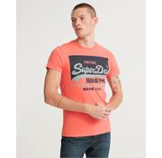 Superdry T-shirt Roze (M1010099A - 9SU)