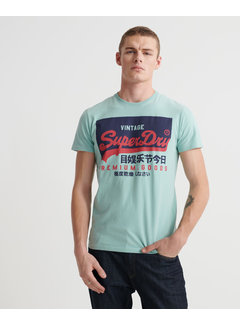 Superdry T-shirt Mint Groen (M1010099A - GZL)