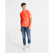 Superdry Polo Korte Mouw Coral (M1110014A - MCQ)