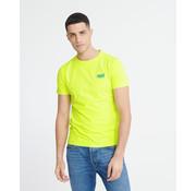 Superdry T-shirt Neon Geel (M1010026A - 24K)