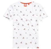 Superdry T-shirt Wit (M1010060A - 01C)