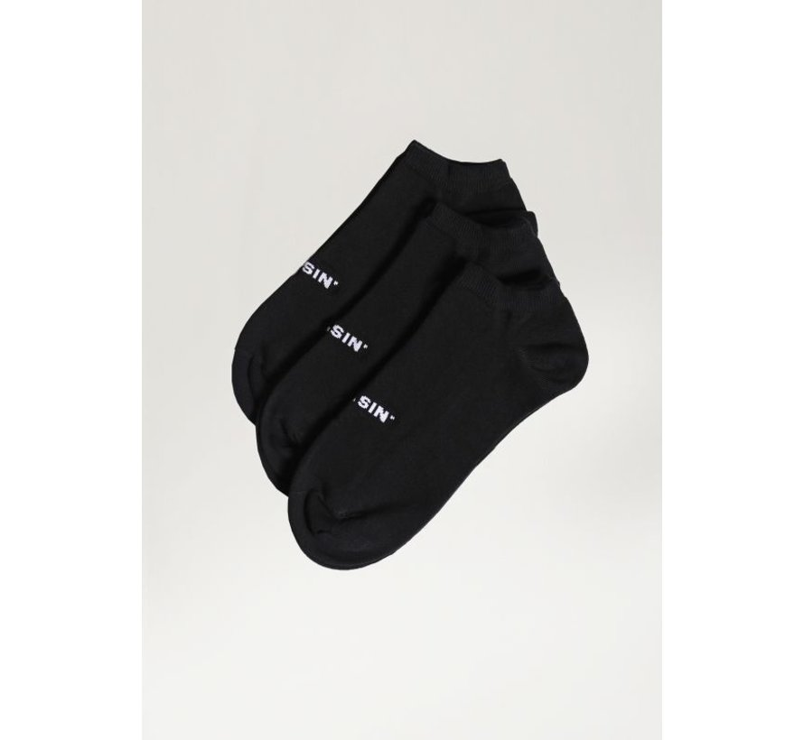 Ankle 2.0 3P Socks Zwart (9S00.336.009 - E90)