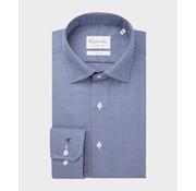 Michaelis Overhemd Slim Fit Print Blauw (PMRH100056)N