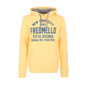 Fred Mello Hooded Sweater Geel (FM20S01FC - Sun)