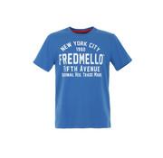 Fred Mello T-shirt Blauw (FM20S01TG - Bluette)