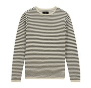 Kultivate Pullover Streep Ecru/Wit (2001010800 - 203)