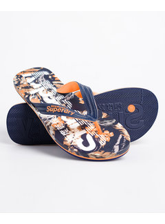 Superdry Slippers Oranje/Navy (MF310004A - 0VG)